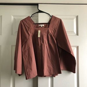Madewell Square Neck Top NWT